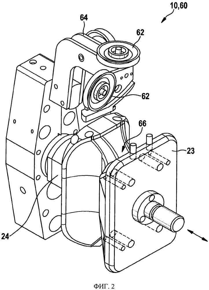 Способ и устройство намотки обмотки на шихтованный пакет для электродвигателя