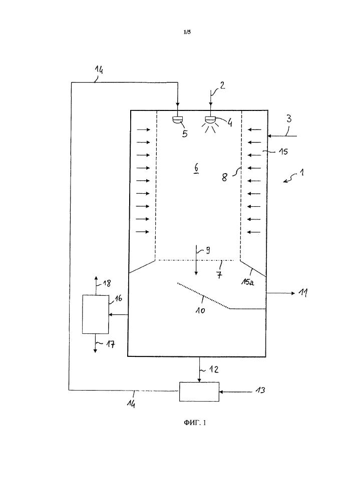 Способ и устройство для гранулирования жидкости, в частности для гранулирования мочевины