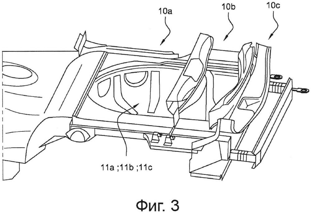 Способ изготовления заднего пола автотранспортного средства и задний пол, выполненный указанным способом