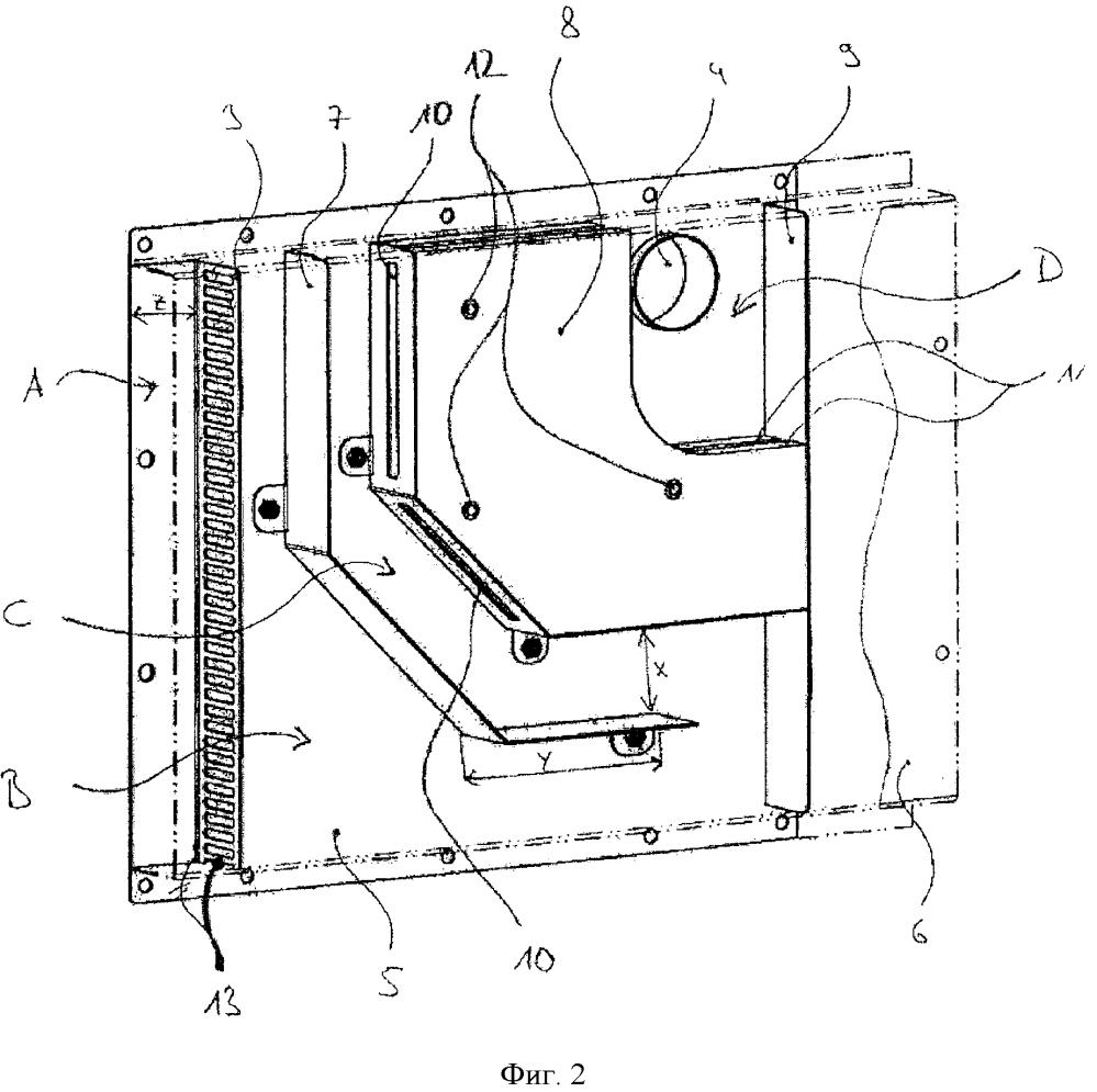 Всасывающий короб со звукоизоляционными свойствами для установки снабжения воздухом в компрессорной установке