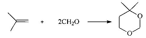 Способ получения 4,4-диметил-1,3-диоксана (варианты)