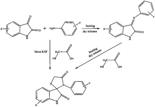 Способ получения 9-ароил-8-гидрокси-6-(2-гидроксифенил)-2-фенил-1-тиа-3,6-диазаспиро[4.4]нон-2,8-диен-4,7-дионов
