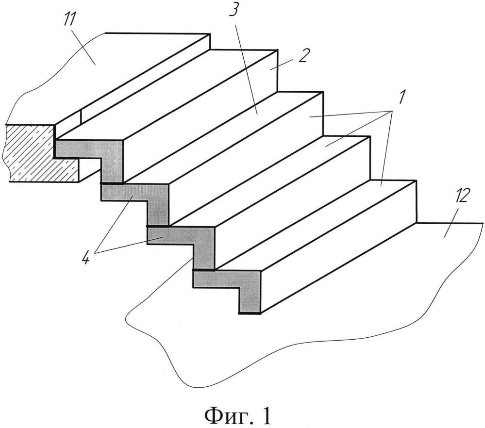 Сборная железобетонная лестница (варианты)