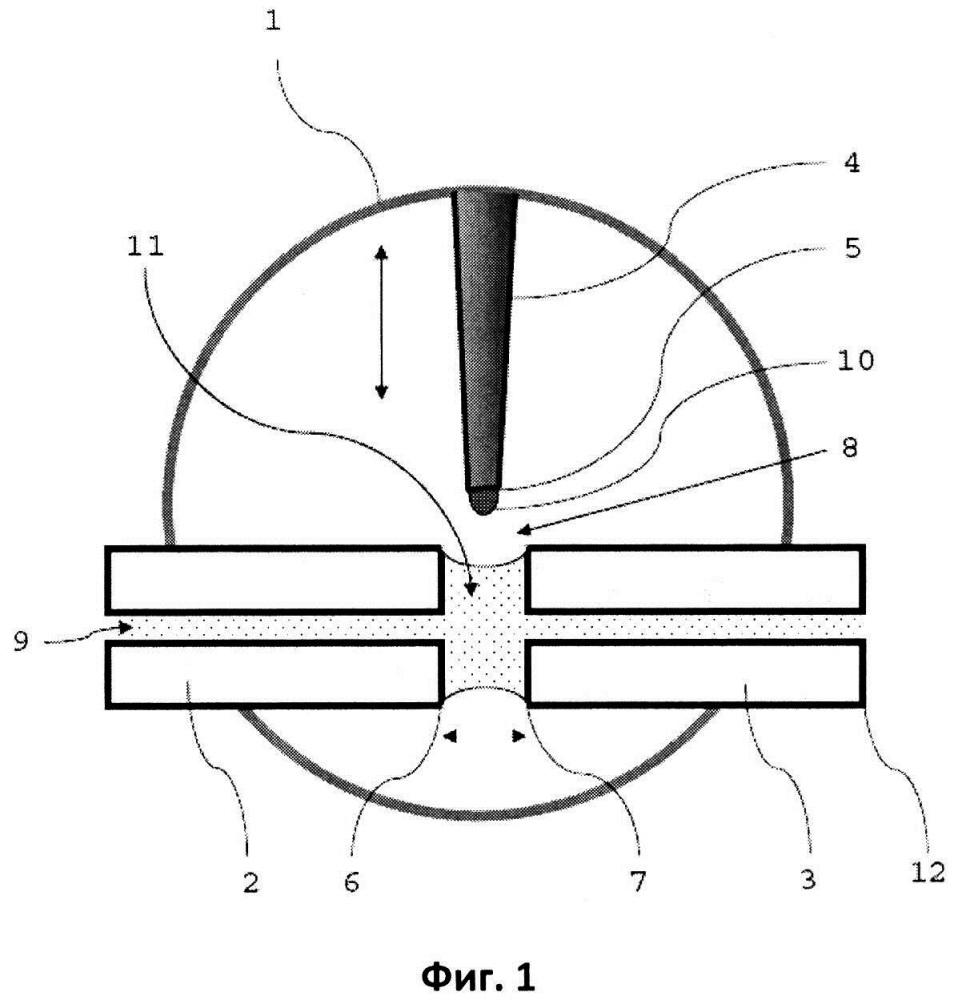 Система для дозирования образца в буферную жидкость