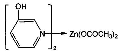 Комплекс ацетата цинка с 3-гидроксипиридином, обладающий антигипоксической активностью в условиях острой экзогенной гипоксии