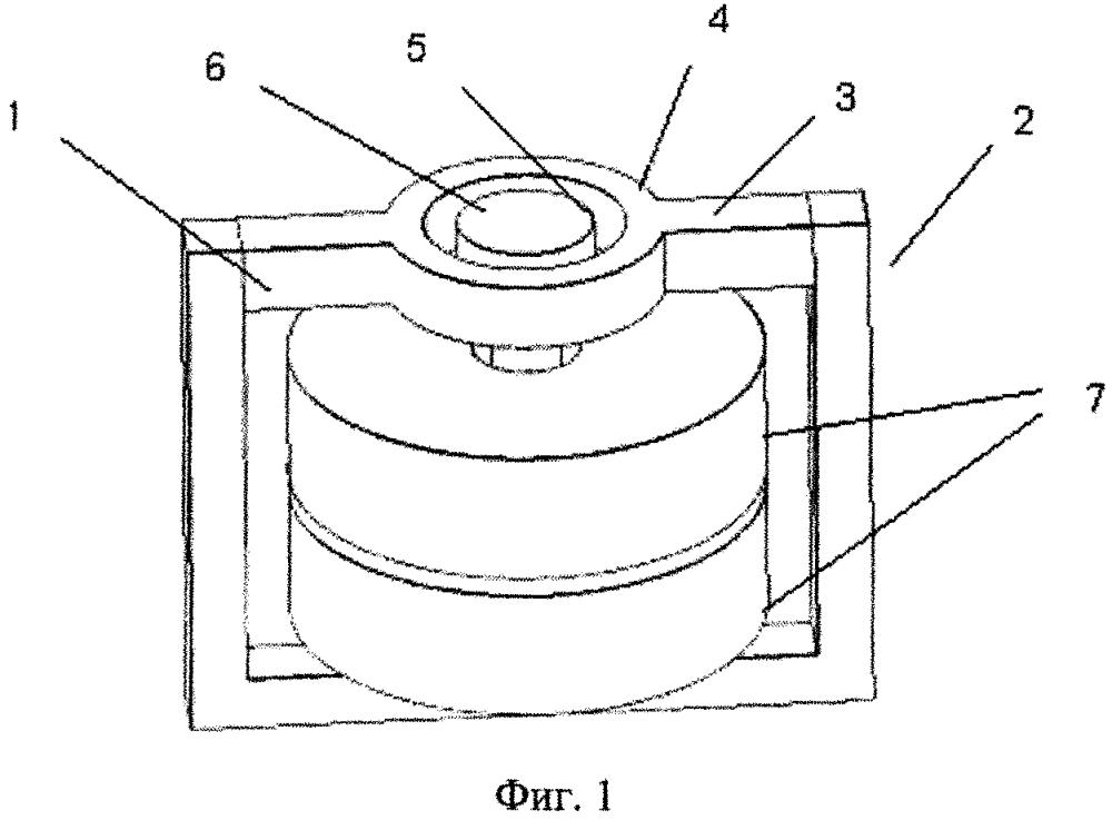 Установка для магнитно-абразивной обработки изделия сложной формы