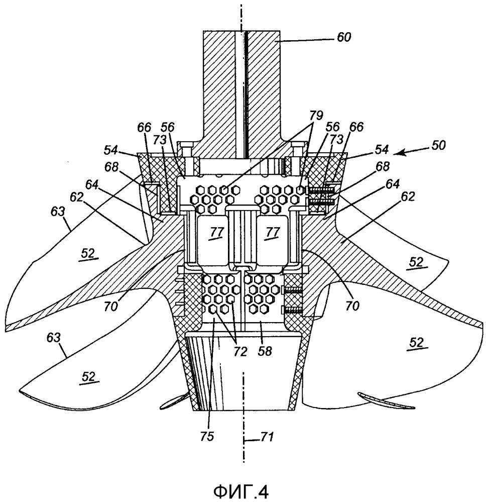 Узел гидравлической турбины и способ установки сменной гидротурбины