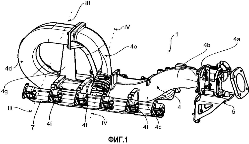 Устройство всасывания для двигателей внутреннего сгорания