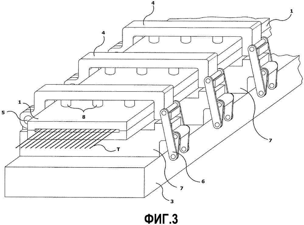 Устройство для вытягивания акриловых волокон в среде пара под давлением и механизм автоматического втягивания для упомянутого устройства