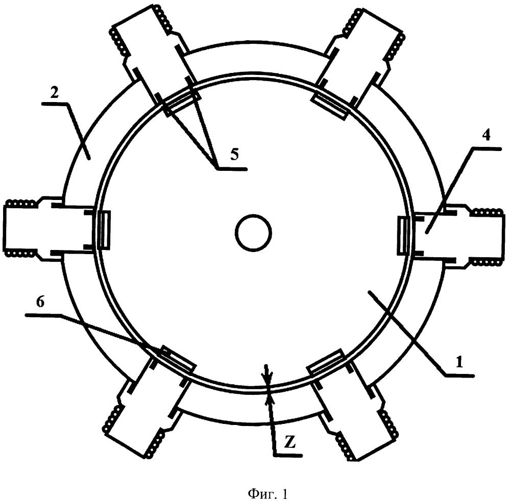Высокотемпературный сверхпроводящий электромагнитный индукционный двигатель с радиальным зазором