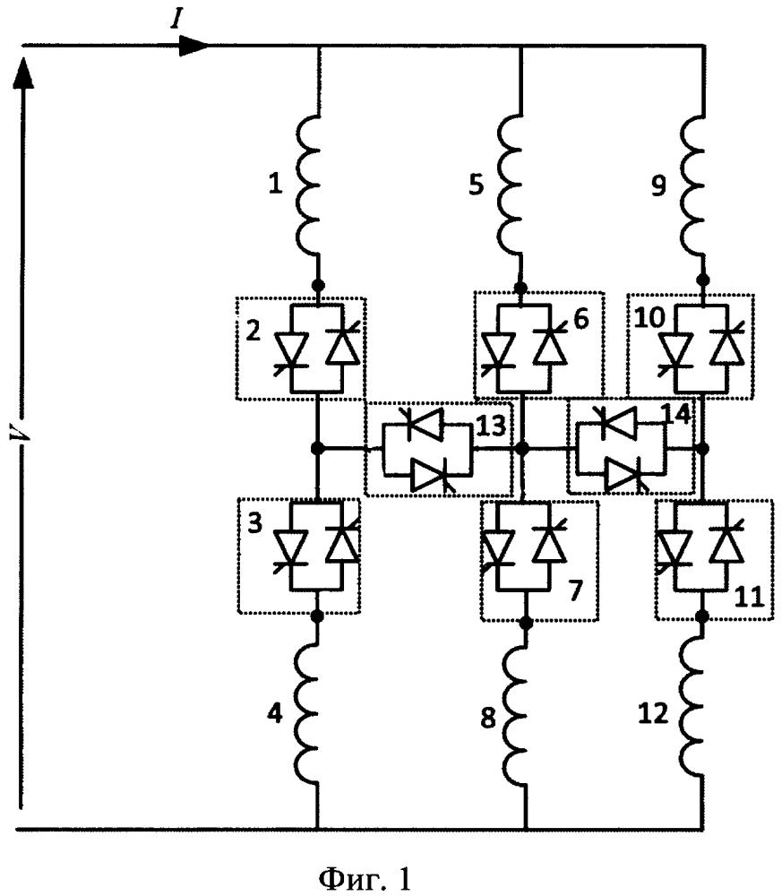 Реакторная группа, коммутируемая тиристорами