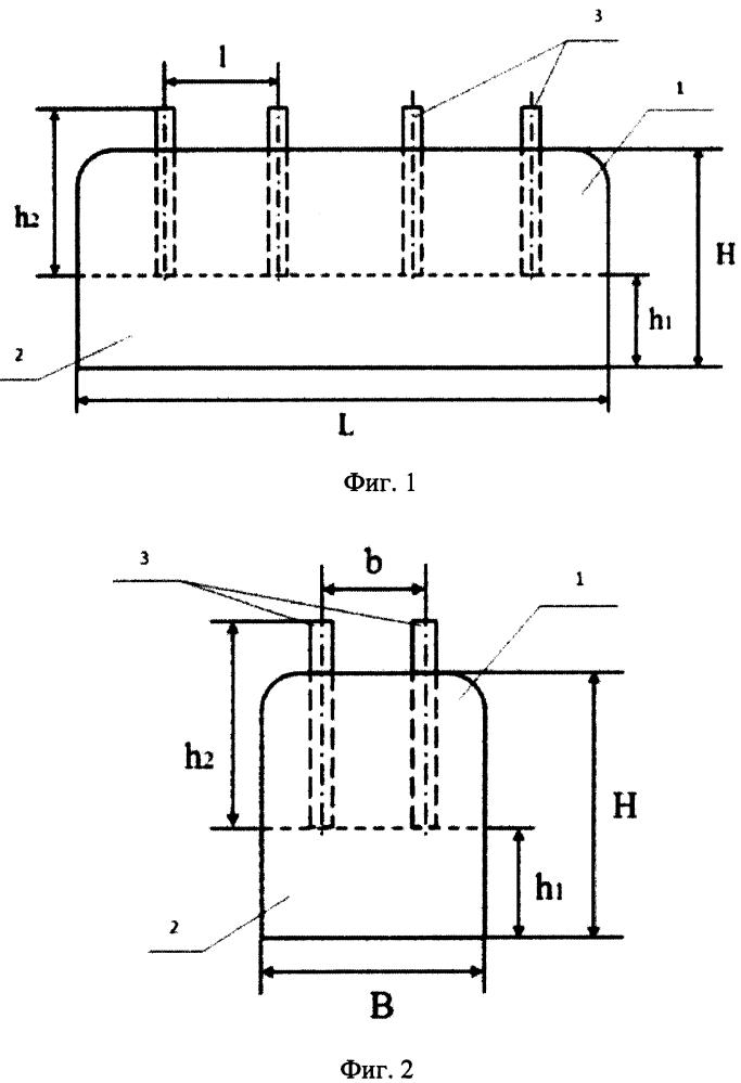 Анодный блок алюминиевого электролизера