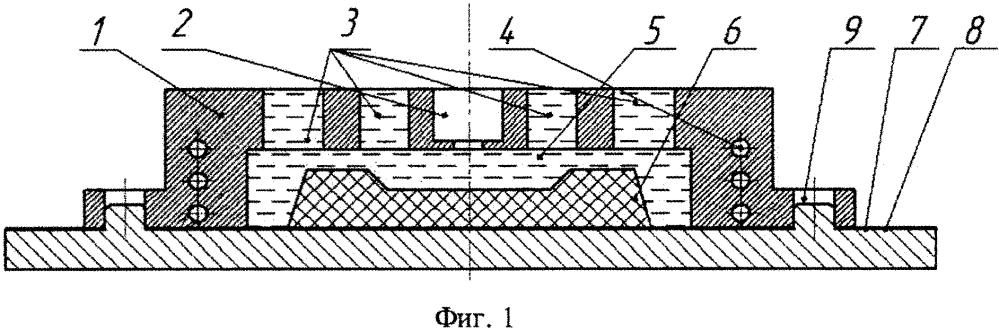 Способ изготовления металлополимерных формообразующих поверхностей матриц и пуансонов пресс-форм