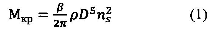 Способ поверки роторных анемометров с применением измерителя динамического крутящего момента