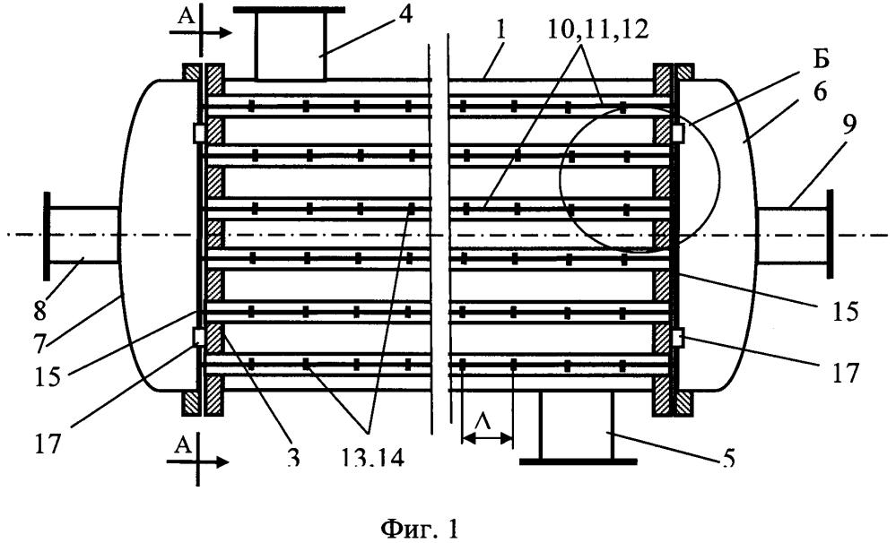 Кожухотрубный прямоточный теплообменник Кожухотрубный конденсатор Alfa Laval CXPM 113-XS 2P CE Петропавловск-Камчатский