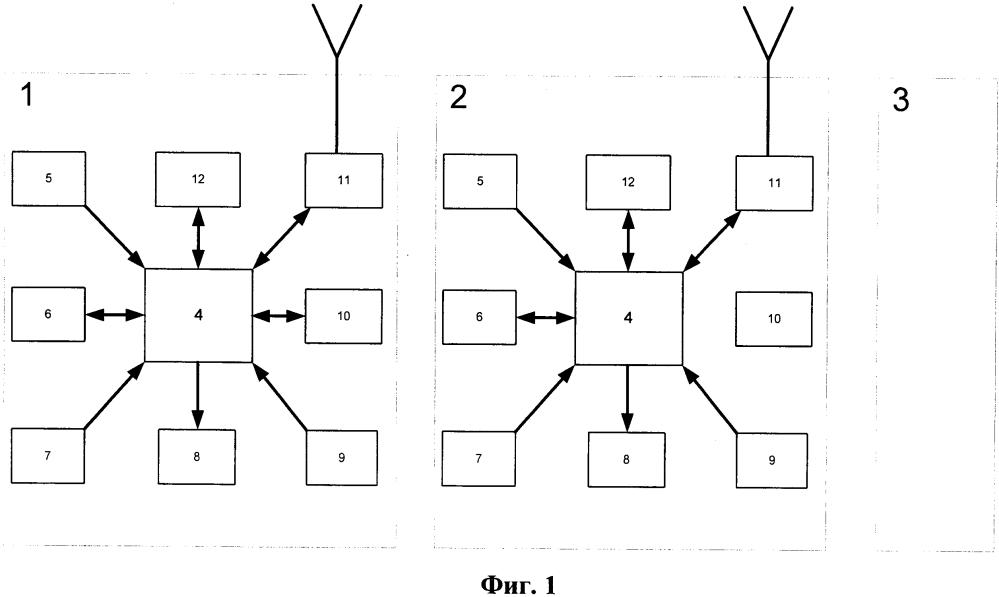 Система автоматизированного вождения грузовых поездов повышенной массы и длины с распределенными по длине состава локомотивами