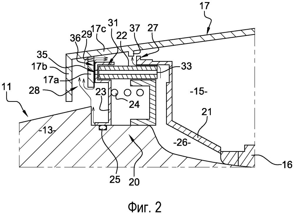 Устройство для обеспечения уплотнения между коаксиальными валами турбомашины