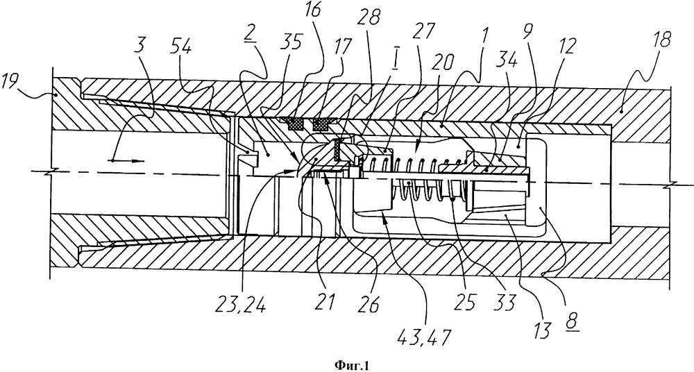 Обратный клапан для бурильной колонны