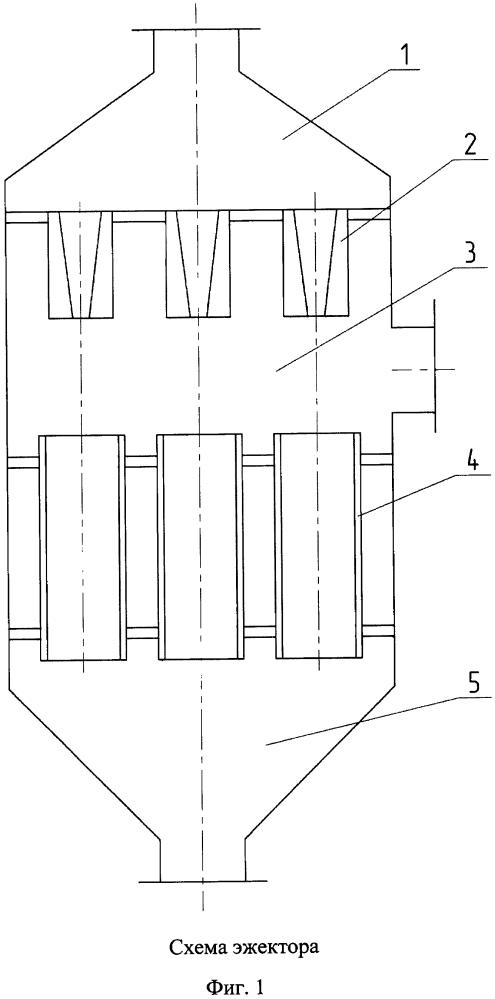 Жидкостно-газовый эжектор