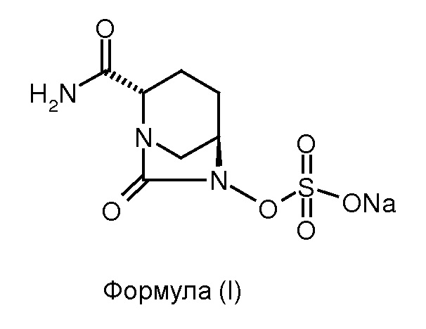 Способ получения натриевой соли (2s,5r)-2-карбоксамидо-7-оксо-6-сульфоокси-1,6-диазабицикло[3.2.1]октана