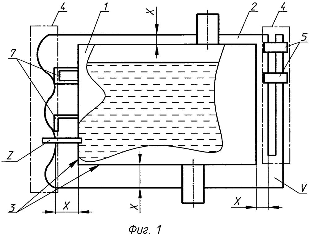 Устройство для предотвращения или ограничения разлива жидкости из повреждённой ёмкости (варианты)