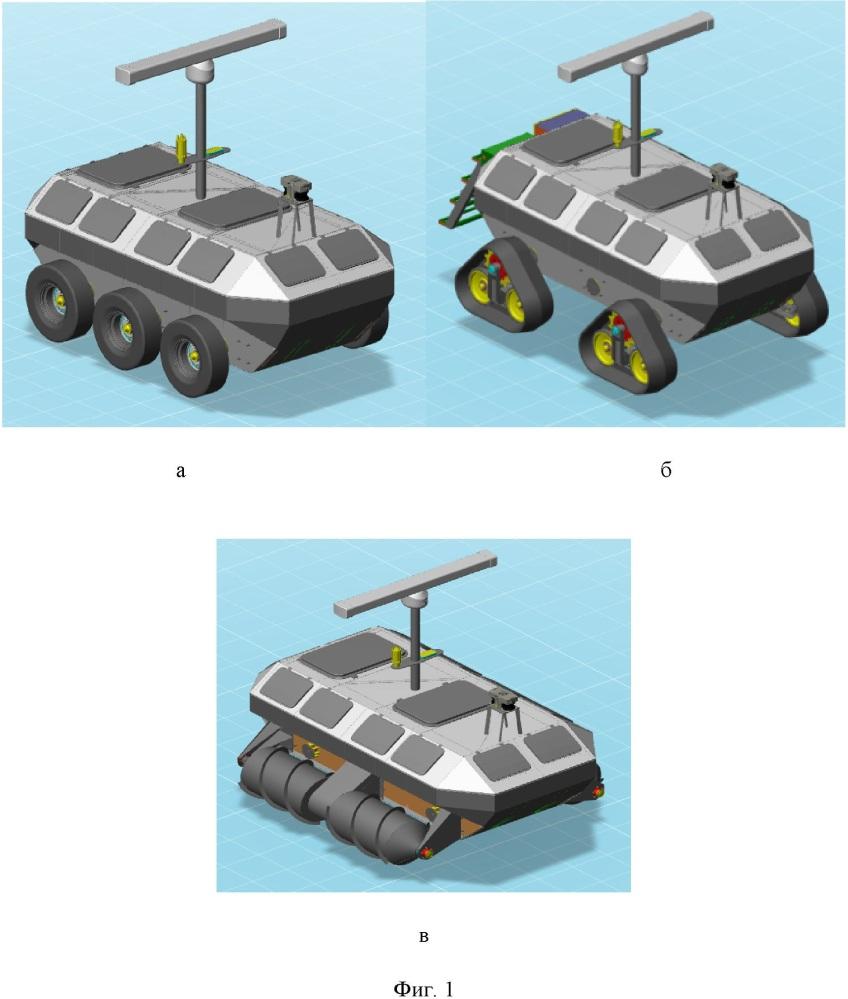 Автономный мобильный робототехнический комплекс