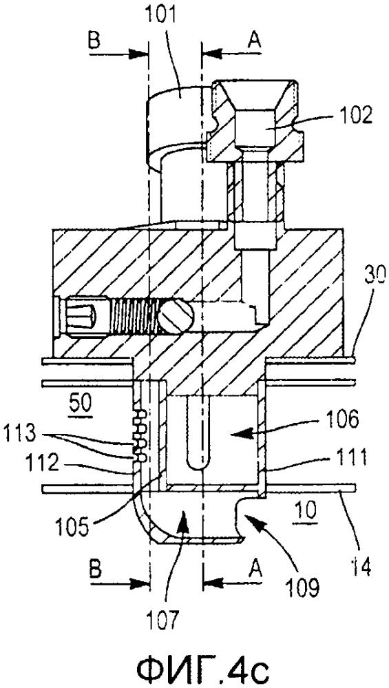 Двухконтурная форсунка для камеры сгорания турбинного двигателя