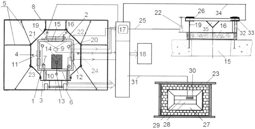 Стенд для испытаний устройств, демпфирующих взрывную волну при аварии на взрывоопасном объекте