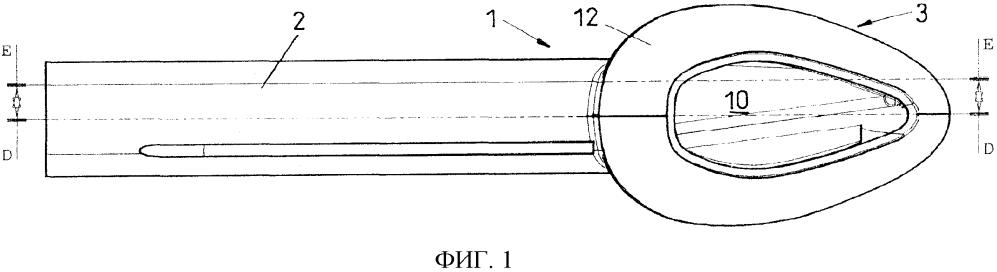 Ларингеальная маска, имеющая трубку, устанавливаемую над голосовой щелью