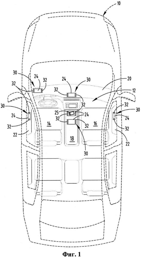 Зарядная система для транспортного средства