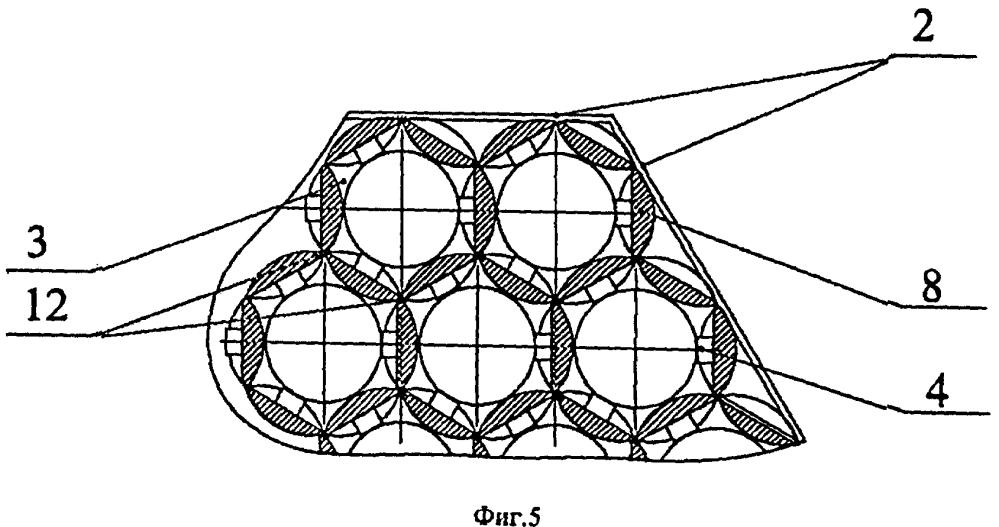 Дистанционирующая решетка тепловыделяющей сборки ядерного реактора