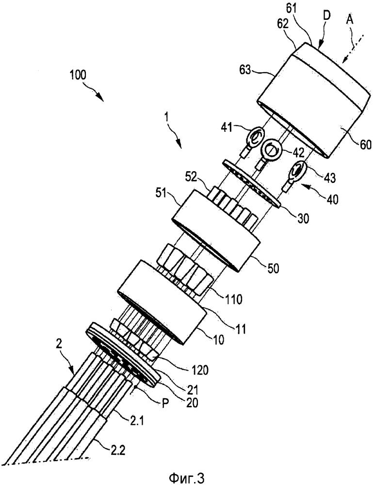 Анкер, устройство натяжения, ветроэнергетическая установка и способ натяжения кордов растяжения на анкере