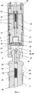 Многоразовый узел соединения и передачи детонации кумулятивного корпусного перфоратора
