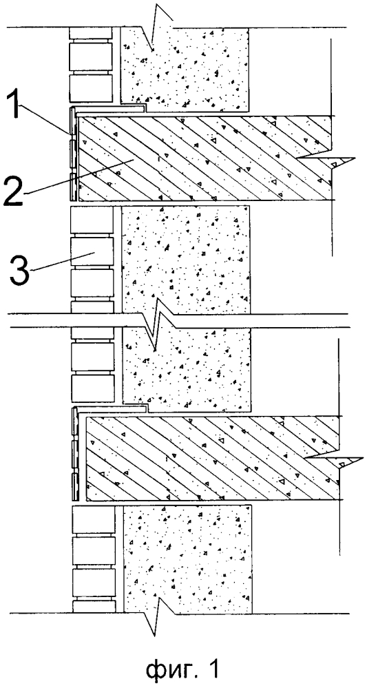 Способ выравнивания фасада при монолитном домостроении