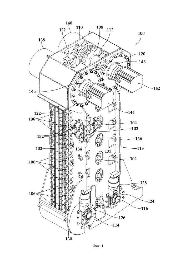Инжектор гибкой насосно-компрессорной трубы с разгрузкой натяжения