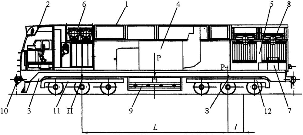 Способ развески локомотива