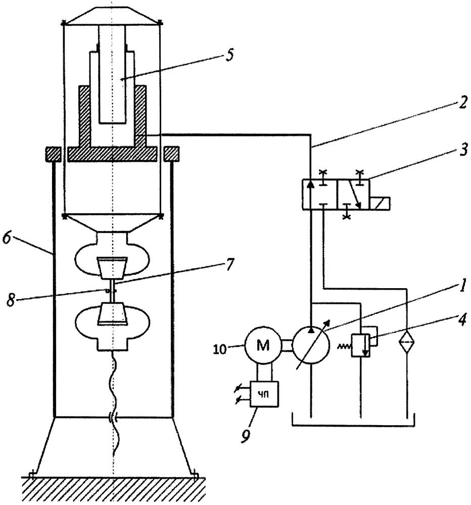 Устройство для определения механических характеристик материала
