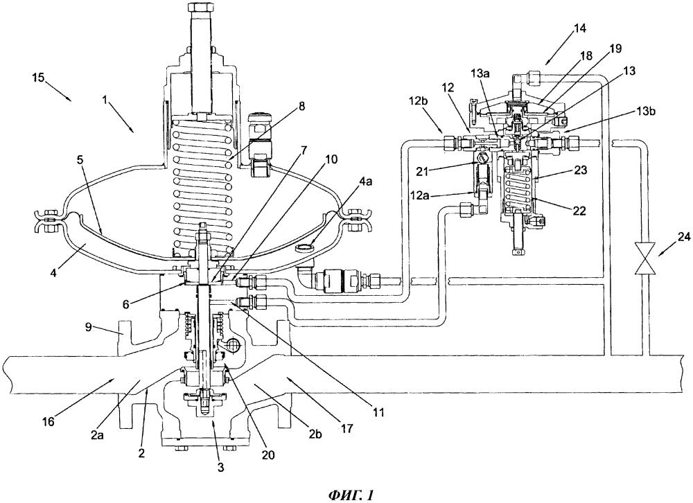 Регулятор давления газа и способ управления таким регулятором