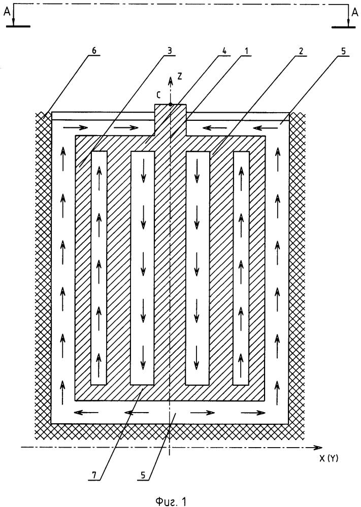 Устройство для рафинирования кремния