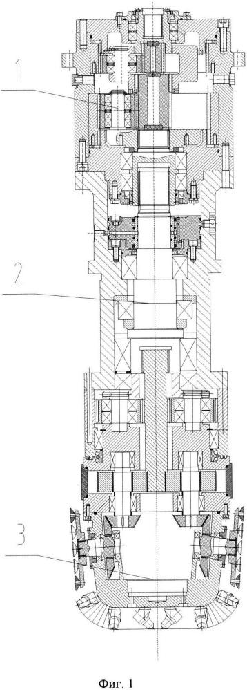 Режущий модуль туннелепроходческой машины для крепкой горной породы