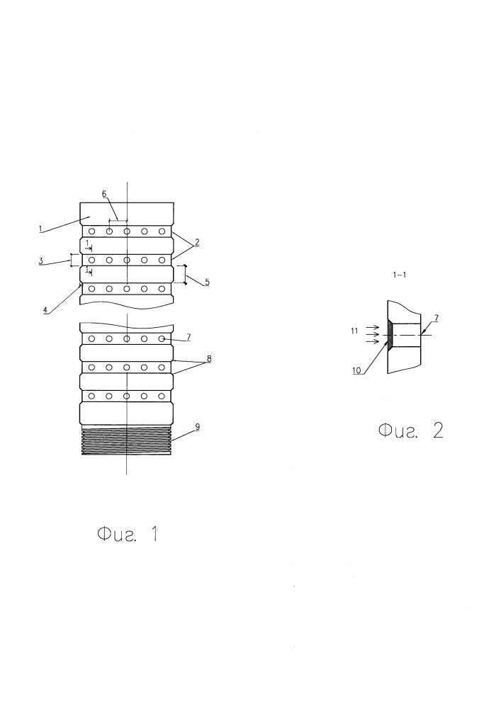 Фильтр скважинный лучевого дренажа для осушения присклоновых территорий