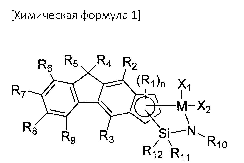 Новое циклопента[b]флуоренильное соединение переходного металла, каталитическая композиция, содержащая его, и способ получения гомополимера этилена или сополимера этилена и альфа-олефина при ее использовании
