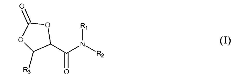 2-оксо-1,3-диоксолан-4-карбоксамиды, их получение и применение
