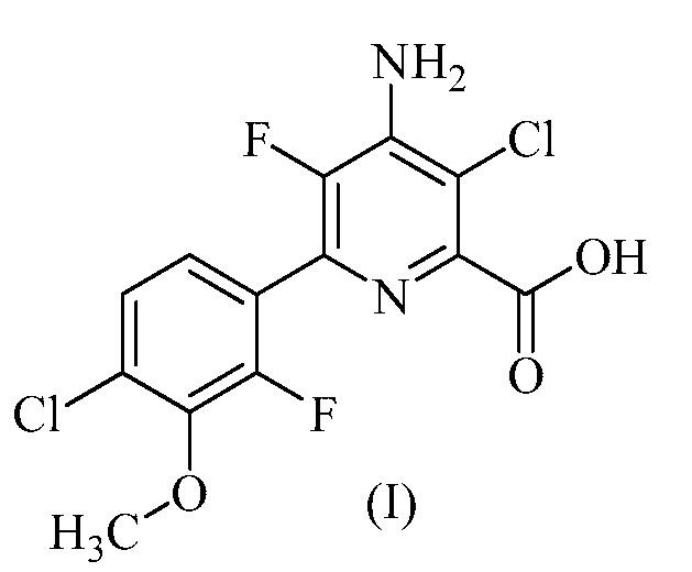 Гербицидные композиции, содержащие 4-амино-3-хлор-5-фтор-6-(4-хлор-2-фтор-3-метоксифенил)пиридин-2-карбоновую кислоту или ее производное и диметоксипиримидин и его производные
