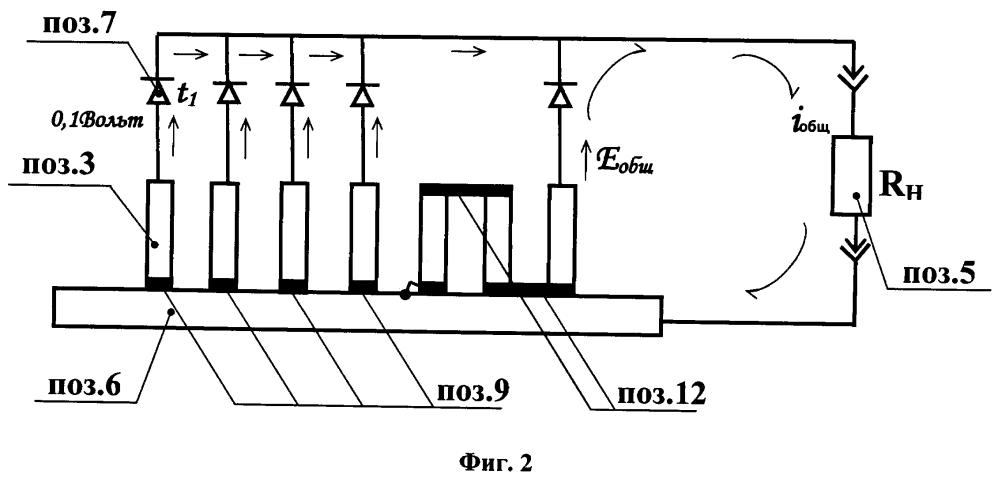 Устройство для соединения полупроводниковых термоэлементов в батарею