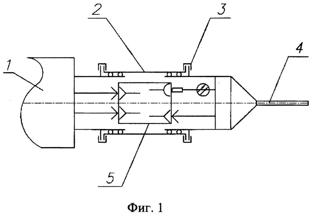 Гидроакустическая система большой протяженности