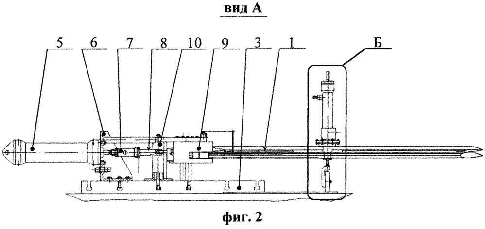 Стенд для моделирования аэродинамической нагрузки на раскрывающиеся элементы летательного аппарата