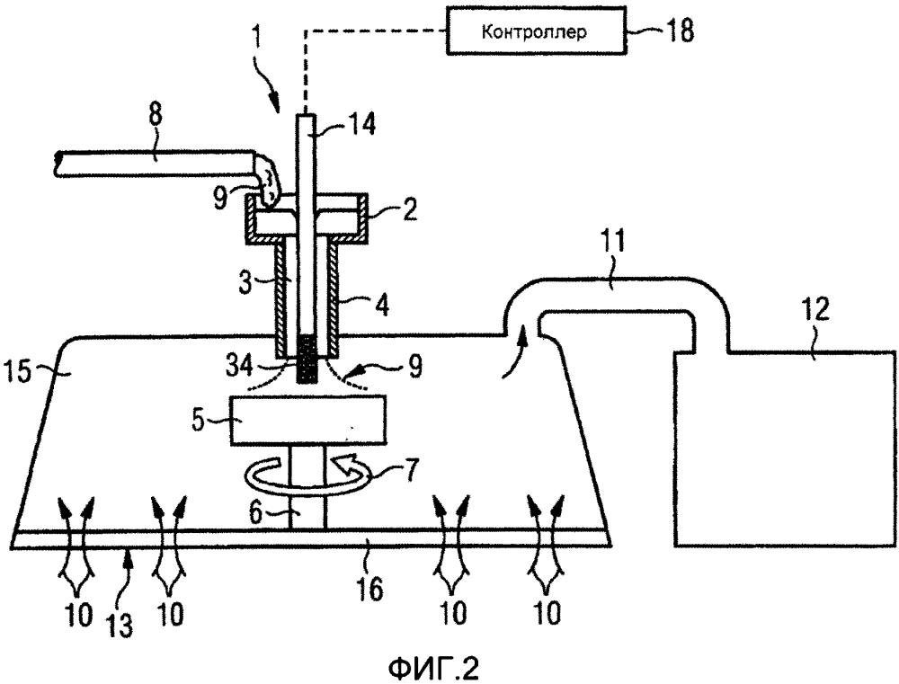 Система гранулирования шлака и способ работы