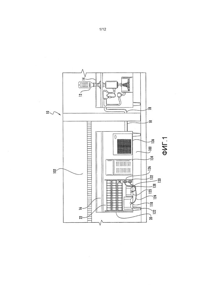 Модульная система для розлива (варианты)
