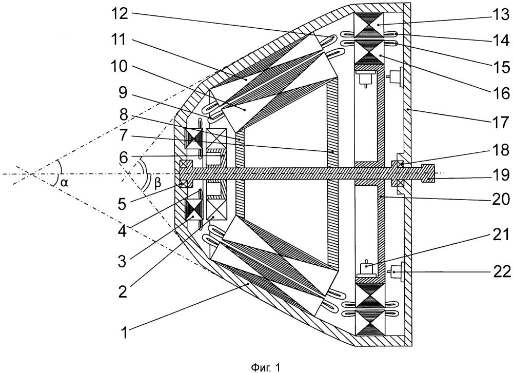 Бесконтактный многофазный генератор переменного тока